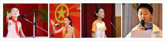 广州青少年演讲口才冬令营现场